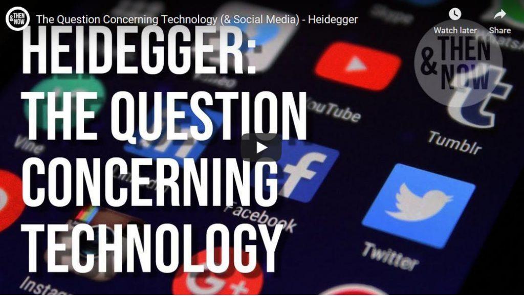 Heidegger over het technologische vraagstuk