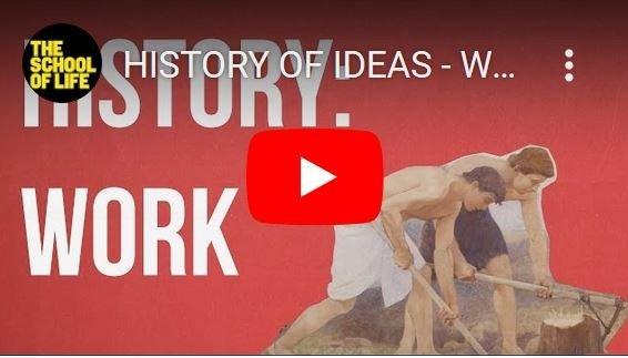 De geschiedenis van het denken over werk