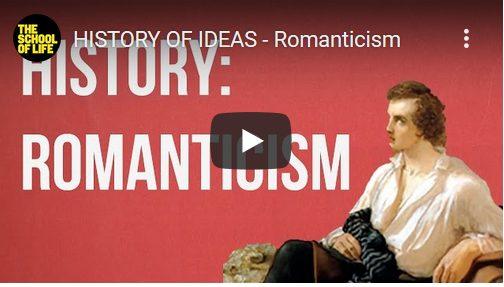 De geschiedenis van ideeën: het Romanticisme