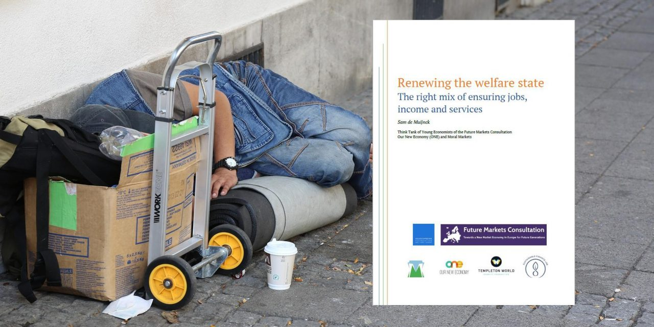 Renewing the Welfare State; The Right Mix of Ensuring Jobs, Income and Services