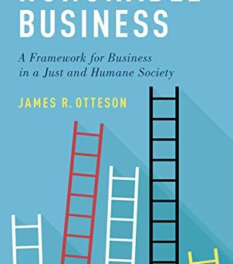 <em>Honorable Business</em> – New on Our Bookshelf