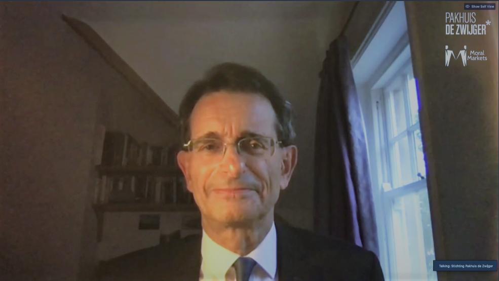 Management scholar Colin Mayer
