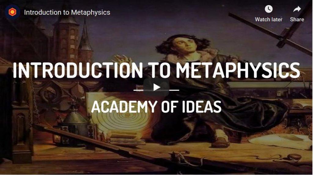Een introductie op de metafysica