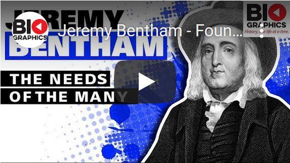 Leven en werk van Jeremy Bentham