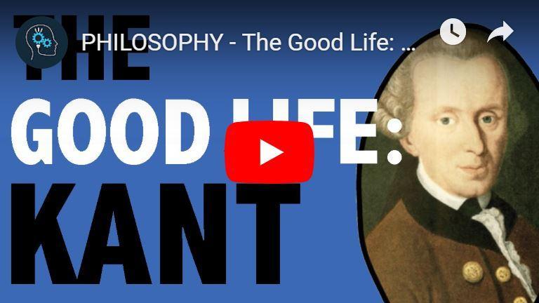 Kant over het goed leven