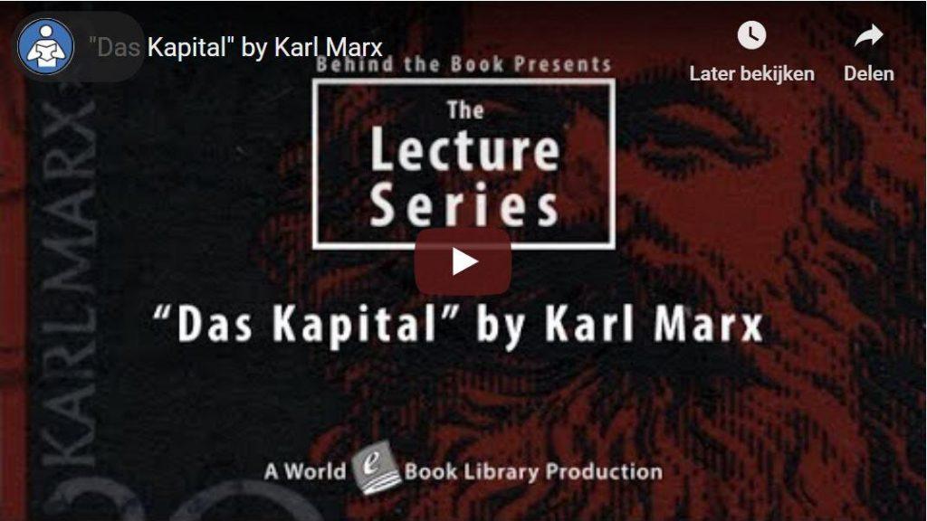 'Het Kapitaal' van Karl Marx