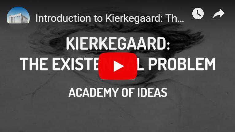 Kierkegaard's existentiële probleem