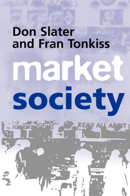 'Market Society' by Slater and Tonkiss
