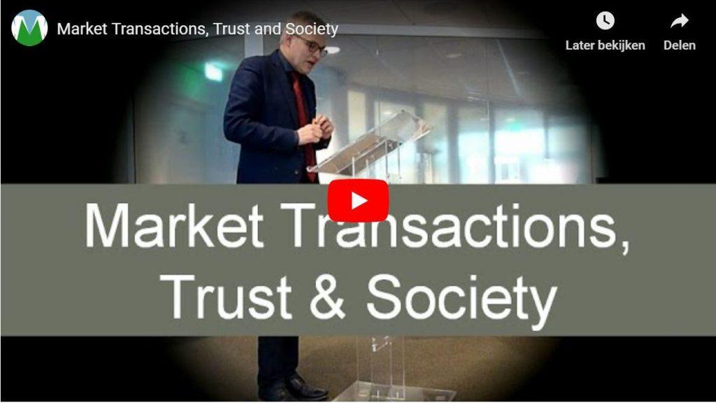 Markttransacties; Een alternatieve visie