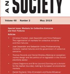 Markets for Collective Concerns, Market Failures, and Policy-making – New Special Issue