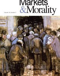Journal of Markets & Morality (vol. 19, no. 2)
