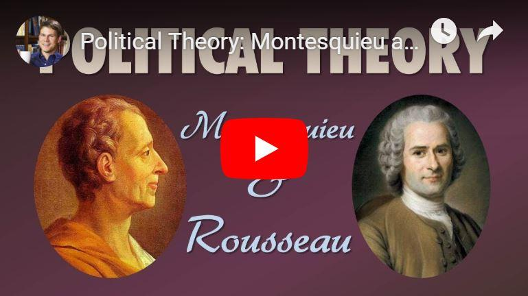 Montesquieu & Rousseau
