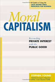 cover of moral capitalism