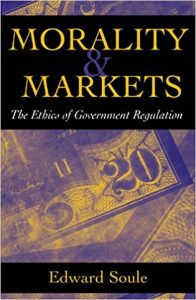 book cover of morality & markets
