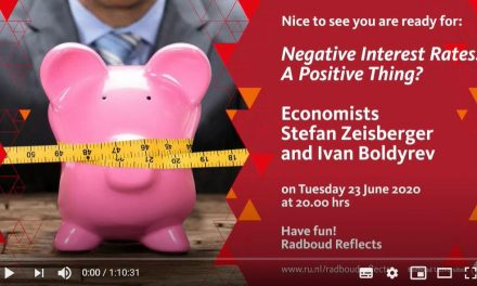 Negative Interest Rates: A Positive Thing?