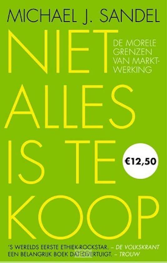 Cover van 'Niet alles is te koop'