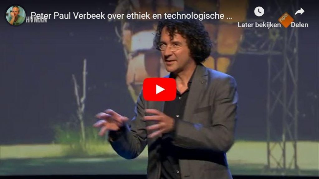Ethiek & technologische ontwikkelingen