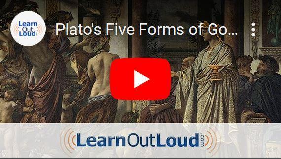 Plato's vijf vormen van bestuur