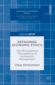Reframing economic ethics cover