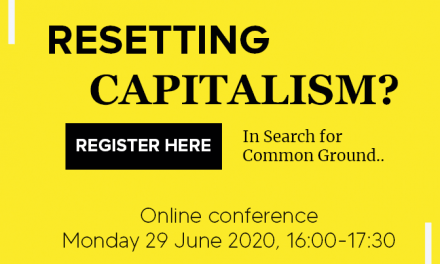 Resetting Capitalism; Searching for Common Ground (Webinar)