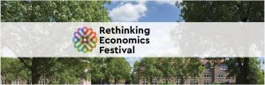 banner rethinking economics festival