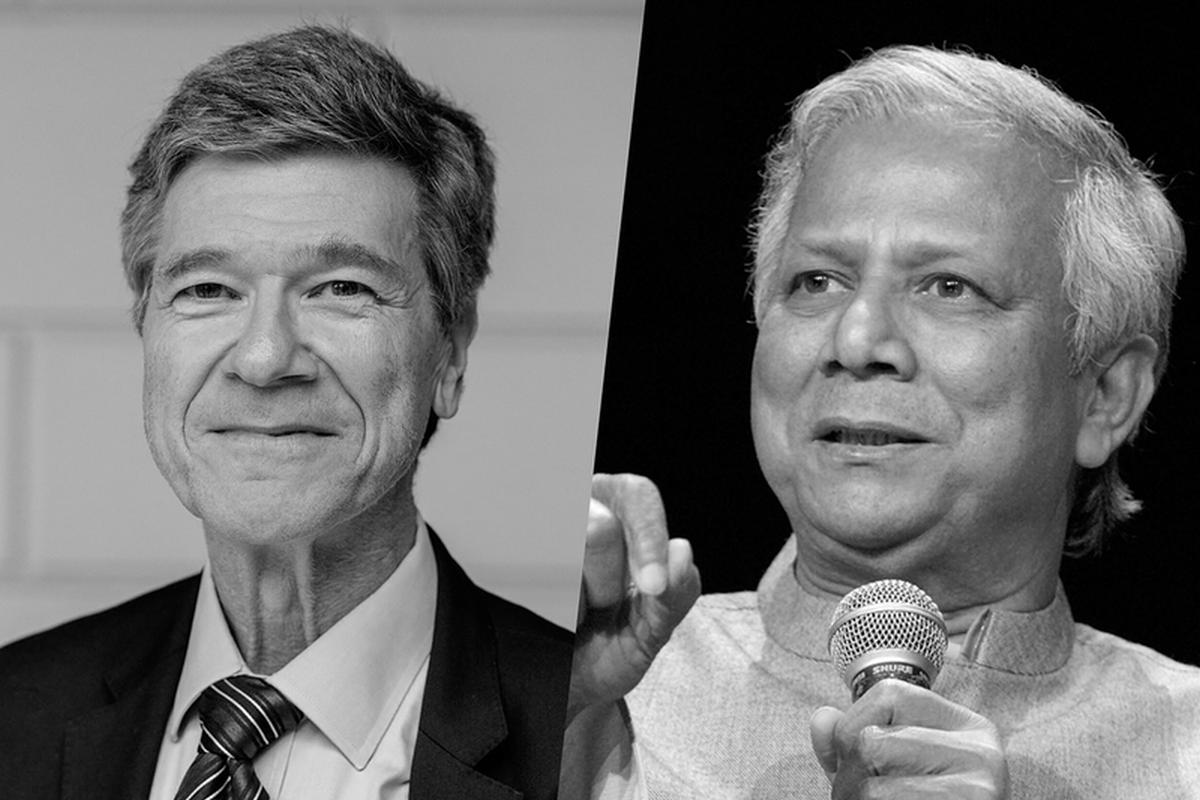 Jeffrey Sachs and Mohammed Yunus in dialogue on the Future of Capitalism