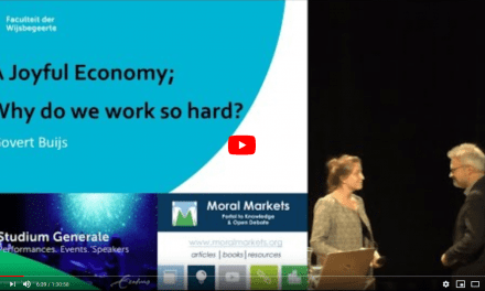 A Joyful Economy – Why Do We Work So Hard?