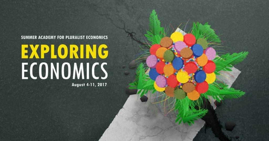 banner of the summer academy on pluralist economics