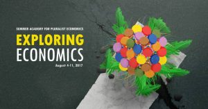 banner of the summer academy on pluralist economics