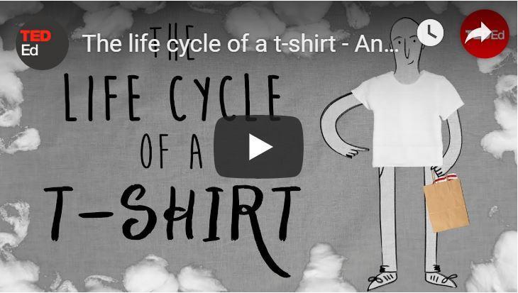 De levenscyclus van een t-shirt