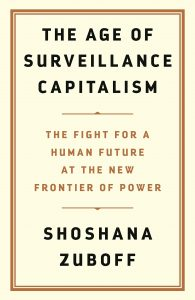 The Age of Surveillance Capitalism - book cover