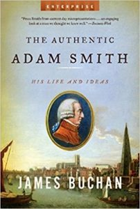 cover of the authentic adam smith