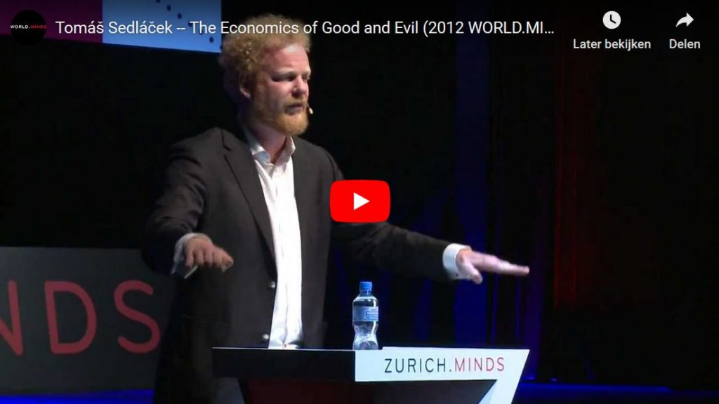 The Economics of Good and Evil