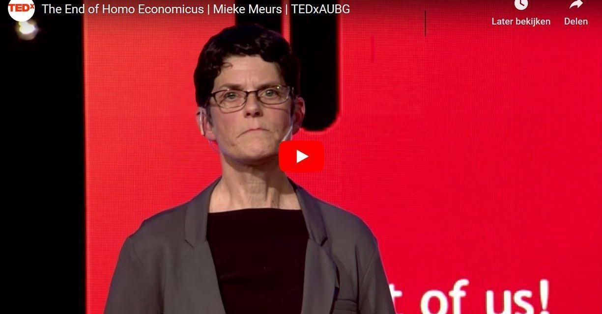 Economie Opnieuw Doordacht; 5 TEDx Praatjes (en 4 Boeken)