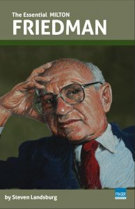Boek Cover The Essential Milton Friedman (2019)