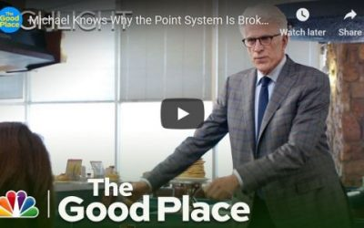 What TV Comedy 'The Good Place' Tells Us about Why Banks and Other Corporations Do Bad Things