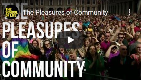 Het plezier van onderdeel zijn van gemeenschappen