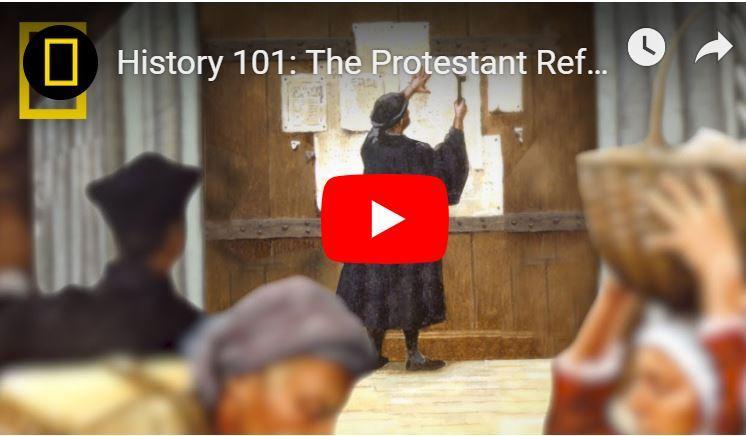 De Protestant reformatie: centrale ideeën