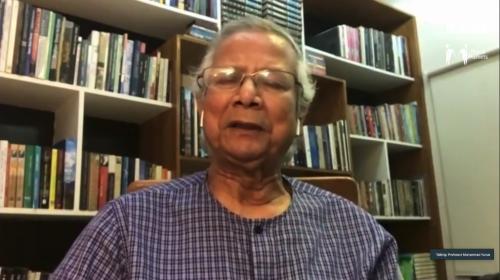 Economist Muhammad Yunus