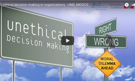 Four Online Courses in BUSINESS ETHICS to Work on Better Markets at the Personal / Organizational Level