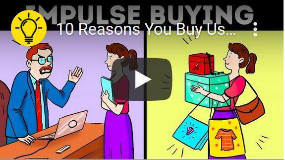 Waarom we dingen kopen die we niet nodig hebben