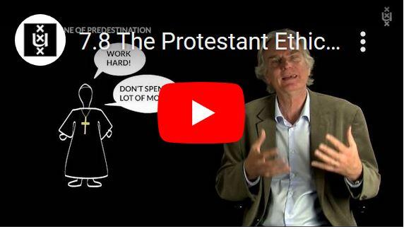 Weber over kapitalisme en de protestantse ethiek