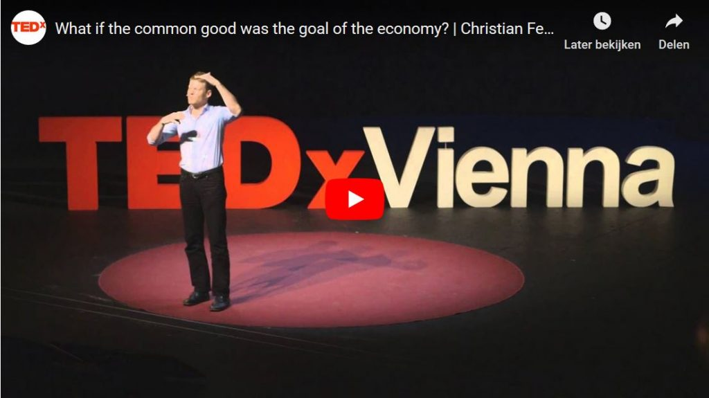 What if the common good was the goal of the economy?