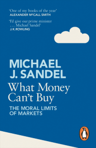 cover of the book by Michael Sandel
