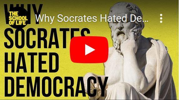 Waarom Socrates een hekel had aan democratie